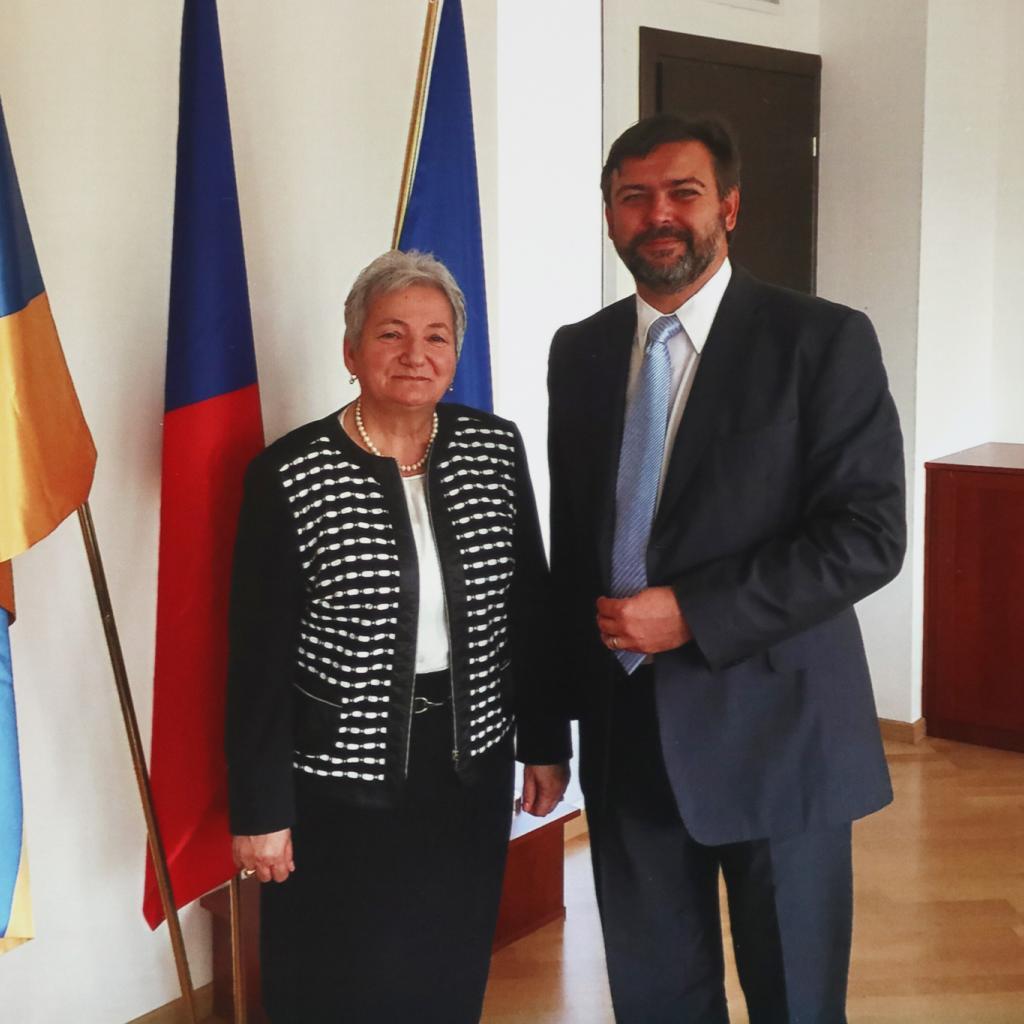 Galya Sargsyan na velvyslanectví České republiky v Arménií